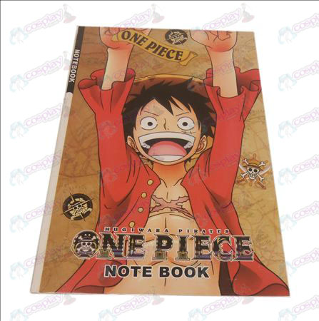 Ruffy One Piece Zubehör Notebook