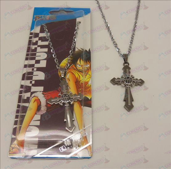 D-Kreuz-Halskette (One Piece AccessoriesB)
