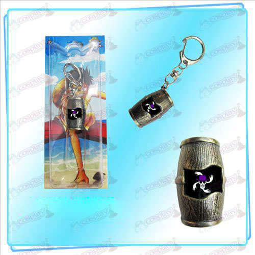 Ruffy Piraten Barrel Keychain (Robin)