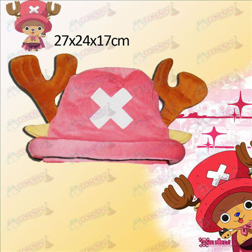 One Piece Chopper Zubehör rosa Hut