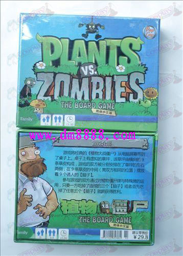 Plants vs Zombies Zubehör Game Card