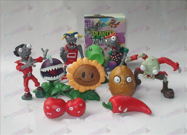 10 Plants vs Zombies Zubehör Doll (boxed)