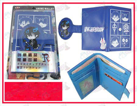 Personality Wallet-Blue Exorcist Zubehör
