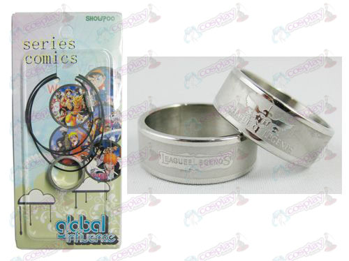 League of Legends Zubehör Frosted Ring Halskette - Rope