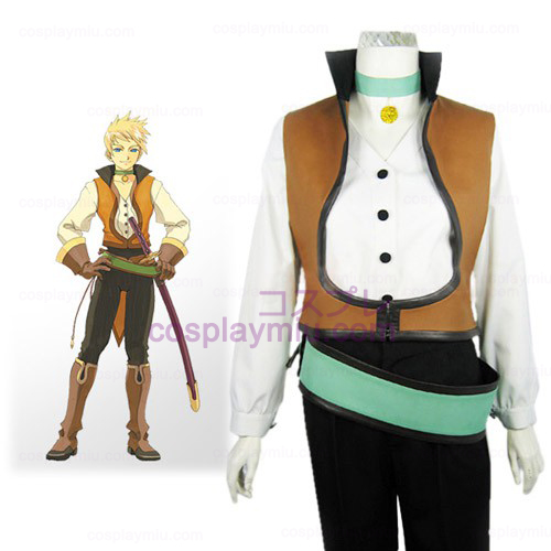Tales of the Abyss Guy Cecil Halloween Cosplay Kostüme