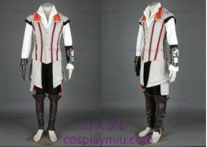Assassin 's Creed II Ezio Cosplay White Edition - Deluxe