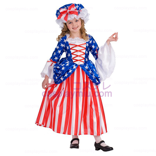 Deluxe Betsy Ross Child Kostüme