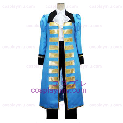 Hetalia: Axis Powers Blau France Cosplay Kostüme