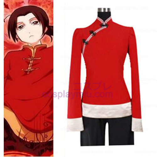 Hetalia: Axis Powers China Red Cosplay Kostüme