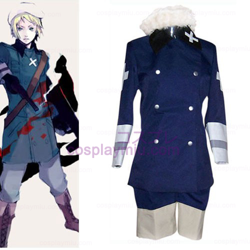 Royal Blue Hetalia: Axis Powers Cosplay Kostüme