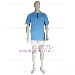 The Prince Of Tennis Jyousei Shounan Light Blue and White Cosplay Kostüme