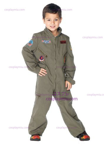 Top Gun Flight Suit Kids Kostüme