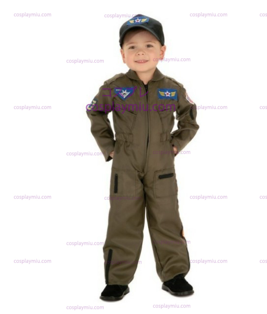 Kid Air Force Fighter Pilot Top Gun Halloween Kostüme