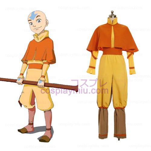 Avatar The Last Airbender Cosplay Aang Kostüme