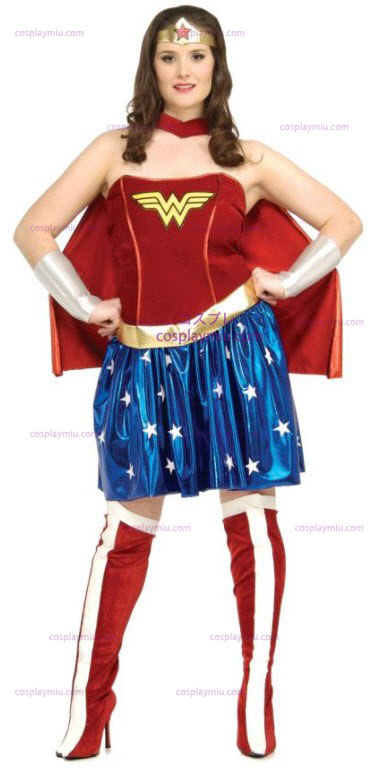 Wonder Woman Plus Size Adult Kostüme