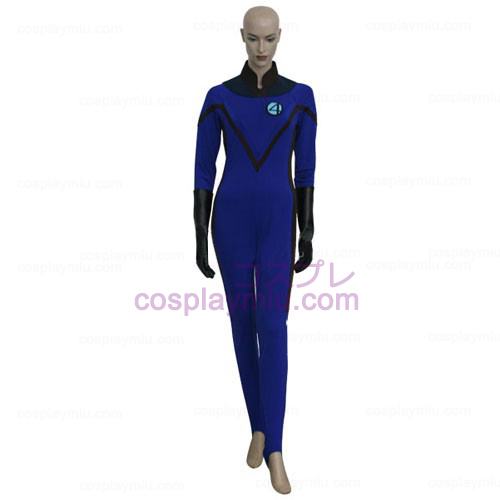 Fantastic 4 Invisible Woman Cosplay Kostüme