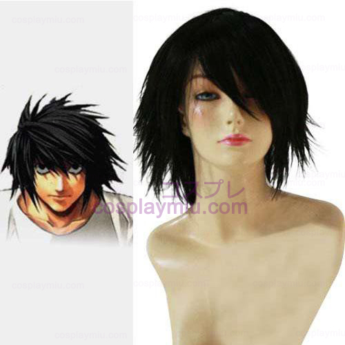 Death Note Lawliet Ryuuzaki Cosplay Perücke