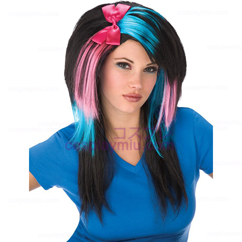 Cotton Candy Scene Girl Adult Perücke