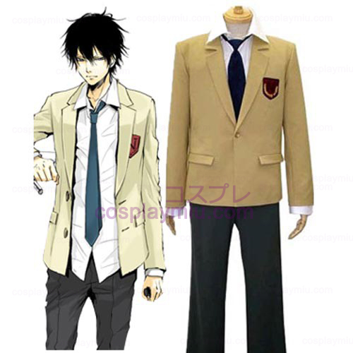 Katekyo Hitman Reborn! Namimori School Uniform Cosplay