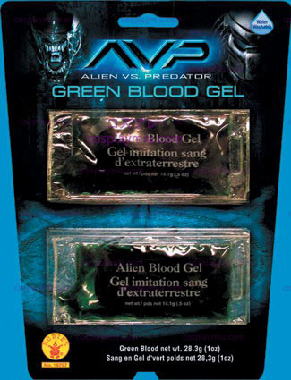 Alien Green Blut