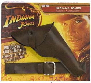 Indiana Jones Pistole mit Holster
