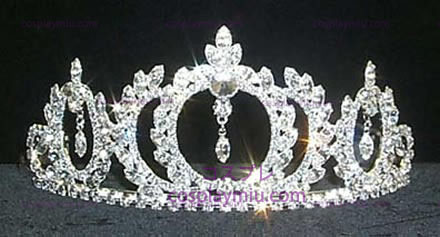Strass Crown Silver-Tone-CT020