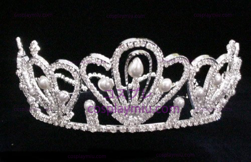 Silber Strass Crown-CT009