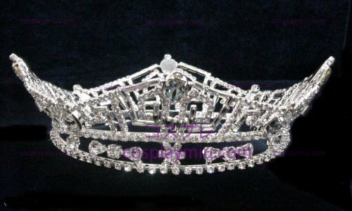 Strass Crown Silver-Tone