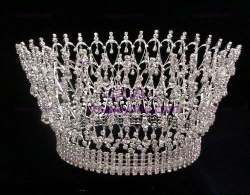 Strass Crown Silver-CT004