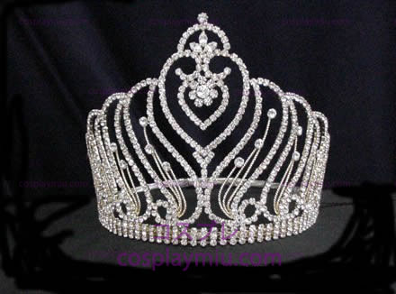 Strass Crown Silver-CT006