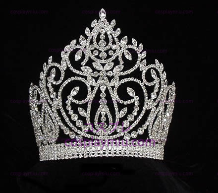 Strass Crown Silver-Tone-CT019