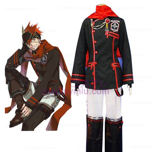 D.Gray Man Lavi Cosplay Kostüme